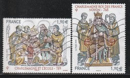 FRANCE - N°4943/44 Obl  (2015) Les Grandes Heures De L'histoire De France (IV) - France
