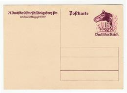 27. Deutsche Ostmesse Königsberg 1939 Illustrated Postal Stationery Postcard B190210 - Deutschland