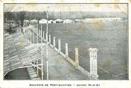 ESSONNE   JUVISY PORT AVIATION  (carte Pub ) - Juvisy-sur-Orge