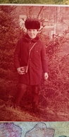 Vintage Original Photo  - Petit Garçon - Little Boy (photographer) With Camera, 1980s - Anonieme Personen