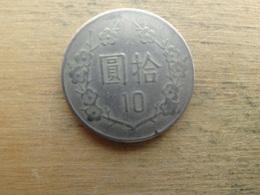 Taiwan  10  Yuan  1982 (71)  Y 553 - Taiwan