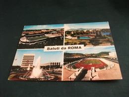 STADIO ESTADIO STADIUM STADE  STADIO FLAMINIO  E DEI MARMI  E.U.R. ROMA  VEDUTE SALUTI ANNULLO DONATORI SANGUE - Stadi