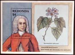 Antigua Redonda 1987 Naturalists Minisheet MNH - Antigua And Barbuda (1981-...)