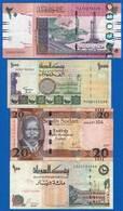 Soudan  7  Billets  Dans  L''etat   Fifty  Pounds  Hs  Scotch - Soudan