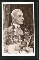 AK Schauspieler Rudolph Valentino In Dem Film Monsieur Beaucaire - Schauspieler