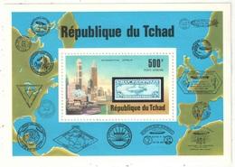 Tchad - Bloc - YT 20 ** - 1977 - Zeppelin - Zeppelins