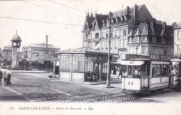 59 - Nord -  MALO Les BAINS - Place Du Kursaal - Tramway - Malo Les Bains