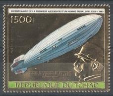 Tchad - YT PA 259 ** - 1983 - Zeppelin - Zeppelins