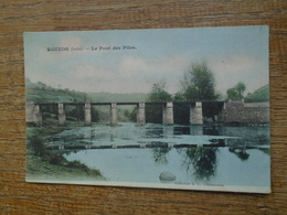 écuzon , Le Pont Des Piles - France