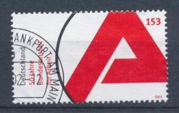 Duitsland/Germany/Allemagne/Deutschland 2002 Mi: 2249 Yt: 2079 (Gebr/used/obl/o)(4095) - Gebruikt