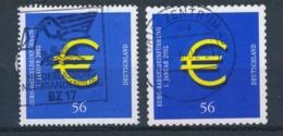 Duitsland/Germany/Allemagne/Deutschland 2002 Mi: 2234,2236 Yt: 2062,2062A (Gebr/used/obl/o)(4099) - Gebruikt