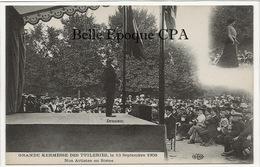 75 - PARIS 01 - Grande Kermesse Des Tuileries - 1908 - DRANEM / Nos Artistes En Scène +++ E. Le Deley / ELD +++ - Arrondissement: 01