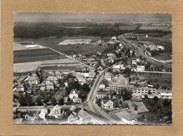 CPSM Dentelée - ENSISHEIM (68) - Vue Aérienne Du Bourg Dans Les Années 50 - Autres Communes