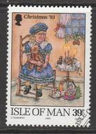 Isle Of Man 1993 Christmas 39 P Multicoloured SW 557 O Used - Isle Of Man