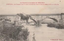 ***  54 ***  Militaria * Guerre En Lorraine LUNEVILLE Les Allemands .. Pont écrite TTB - Luneville