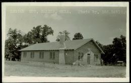 Ref 1273 - Early Real Photo Postcard - Legion Hut - Salina Oklahoma USA - United States
