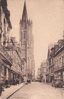 Coutances La Rue Tancrède Et La Cathédrale  éditeur Le Goubey N°20 - Coutances