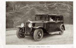 """#06 Reproduction Photo Publicitaire 1928 """"Buick 1929, 7 Places"""", Sur Carte Postale - Voitures De Tourisme"""