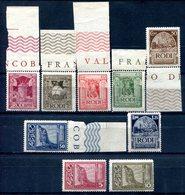 Z1402 ITALIA OCCUPAZIONI RODI 1932, Pittorica, MNH, Serie Completa, 6 Valori Bordo Di Foglio, Ottime Condizioni - Egeo (Rodi)
