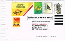 31572. Carta Comercial KODAK, UKARUMPA (Papua And New Guinea) 1995 - Papouasie-Nouvelle-Guinée