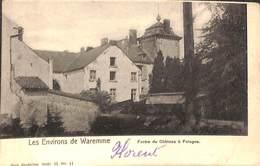Waremme (environs De) - Ferme Du Château à Fologne (animée Attelage 1902) - Borgworm