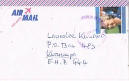 31573. Carta Aerea FINSCHHAFEN (Papua And New Guinea) 1998 - Papouasie-Nouvelle-Guinée