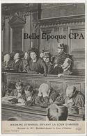 75 - PARIS 01 - Affaire De L'Impasse Ronsin / Madame STEINHEIL Devant La Cour D'Assises +++ E. Le Deley / ELD +++ - Arrondissement: 01