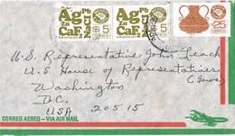 31575. Carta Aerea GUADALAJARA (Mexico) 1985 To USA - Mexique