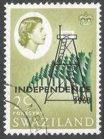 Swaziland. 1968 Independence O/P. 2c Used. SG 144 - Swaziland (1968-...)