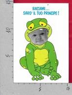 CARTOLINA NV ITALIA - Baciami... Sarò Il Tuo Principe! - Bimbo - Ranocchio - RICORDI MILANO - 10 X 15 - Cartoline Umoristiche