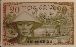 FRENCH INDOCHINA  P. 86d 20 C 1939 XF - Indochine
