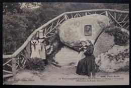 CPA-PONT AVEN-29-MONUMENT ELEVE A LA MEMOIRE DE BRIZEUX PAR BOTREL-VILLARD N°666 - Saint-Jean-du-Doigt