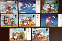 Antigua Redonda 1988 Disney Finlandia MNH - Antigua And Barbuda (1981-...)