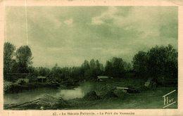 LE MARAIS POITEVIN LE PORT DU VANNEAU - France