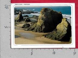CARTOLINA VG PORTOGALLO - PORTO COVO - Pormenor De Extensa Praia - 10 X 15 - ANN. 1989 - Setúbal