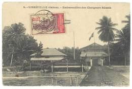 Cpa Gabon - Libreville - Embarcadère Des Chargeurs Réunis - Gabon