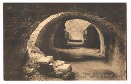 CPA : THEUX Ruines Du Château De Franchimont  Intérieur Du Corps De Garde - Theux