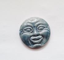 Fève Ancienne Lune Bleu Gris - Olds