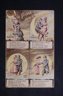 MILITARIA - Carte Postale - Le Voyage Dans La Lune - L 22428 - Humoristiques