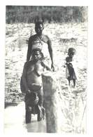 Cpa Carte-photo Afrique , Femmes à La Rivière - Cartes Postales
