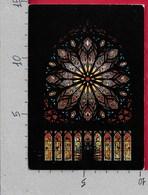CARTOLINA VG NORVEGIA - TRONDHEIM - The Nidaros Cathedral - The Rose Window - 10 X 15 - ANN. 1983 - Norvegia