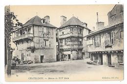 CHATELDON  (cpa 63)  Maison Du XVI° Siècle   -  L  1 - Chateldon