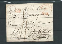 Précurseur  Termonde 1832 - 1830-1849 (Belgique Indépendante)