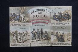 MILITARIA - Carte Postale - La Journée Du Poilu - L 22432 - Humoristiques