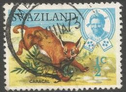 Swaziland. 1968 Animals. ½c Used. SG 161 - Swaziland (1968-...)