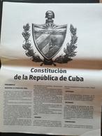 Cuba Kuba Costituzione 2019 - Andere Verzamelingen