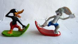 2 FIGURINES WEETOS 2002 PRIME WARNER DAFFY DUCK & BUGS BUNNY - Tintin