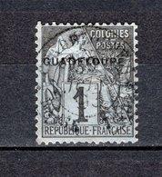 GUADELOUPE N° 14  OBLITERE COTE 1.75€    TYPE ALPHEE DUBOIS - Oblitérés