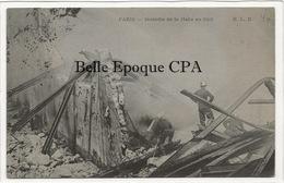 75 - PARIS 05 - Incendie De La Halle Au Cuir / Rue Censier ++++ ELD / E. Le Deley ++++ 1906 - Arrondissement: 05
