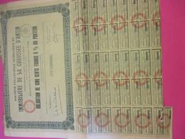 Obligation De 500 Francs 6%  Au Porteur/Sté Financiére Mobiliére  Et Immobiliére De La La CHAUSSEE D'ANTIN/1929  ACT234 - Banque & Assurance